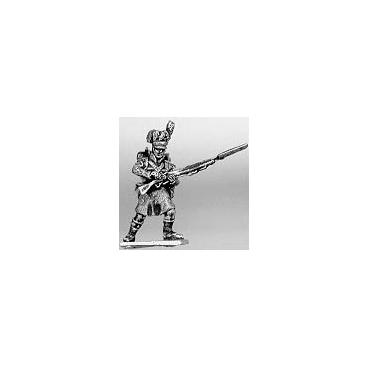 Highland flank company, skirmishing