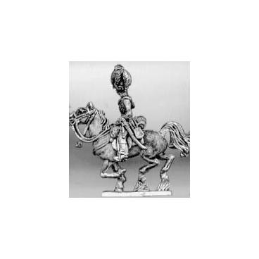 Light dragoon officer, helmet