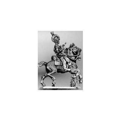Light dragoon trumpeter, helmet