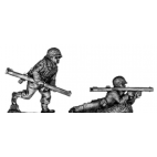 Bazooka, firing prone and advancing