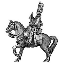 Hussar trumpeter, busby