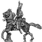 Hussar trumpeter, shako