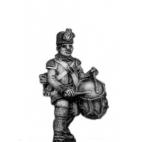 German Fusiliers drummer