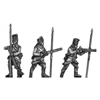 Grenzer sharpshooters with Doppelstutzen