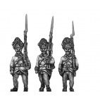 Hungarian grenadiers marching