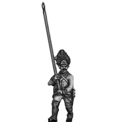 Grenadiers NCO with flag