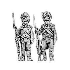German grenadier, order arms