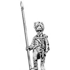 German grenadier standard bearer