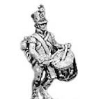 Hungarian fusilier drummer, shako