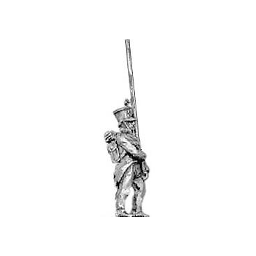 Hungarian fusilier standard bearer, shako