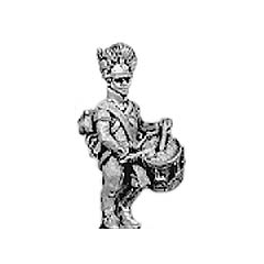 Hungarian grenadier drummer