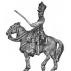 Mounted officer, shako