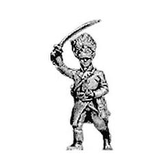 German grenadier officer, advancing