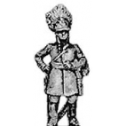 German grenadier officer, standing