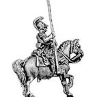 Kurassier standard bearer