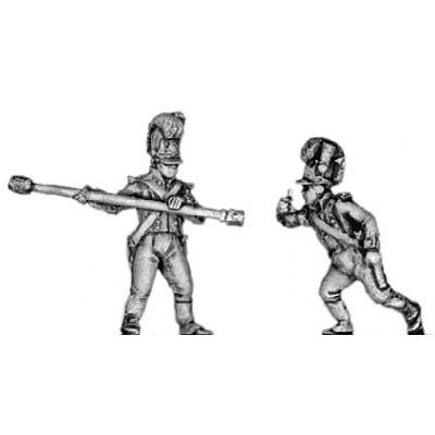 Foot artilleryman, loading