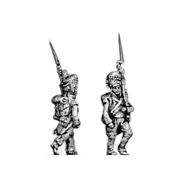 Line grenadier, bearskin