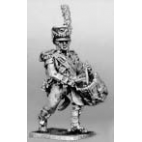 Light infantry drummer