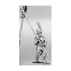 Light infantry standard bearer