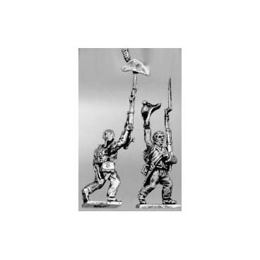 Enthusiastic infantry set, bicorne