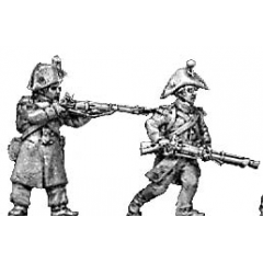 Flank company, skirmishing, greatcoat