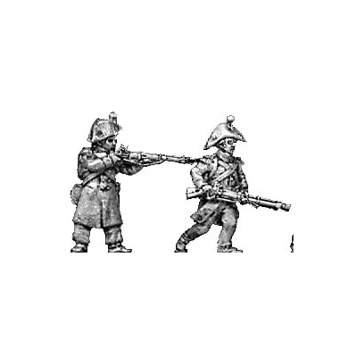 Flank company, skirmishing, greatcoat