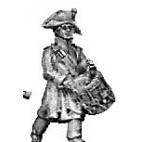 Fusilier drummer, greatcoat