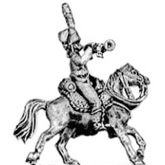 Hussar trumpeter, colpack