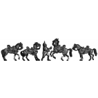 Dragoon Horse holder set