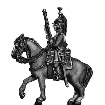 Mounted dragoon at rest