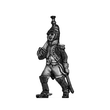 Marching Dragoon officer