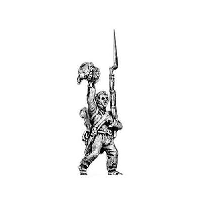 Enthusiastic infantry set (five figures)