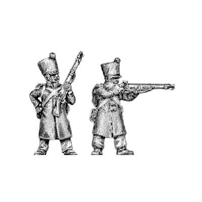 Voltigeur, greatcoat, skirmishing
