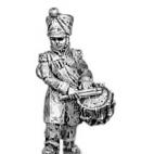 Drummer, greatcoat