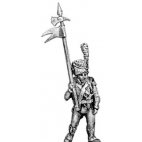 Deuxieme Portaigle, with halberd