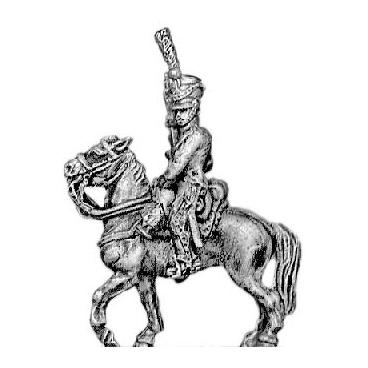 Line chasseur, habit-longue, sword