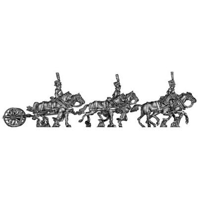 Guard horse artillery limber (galloping)