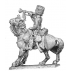 Horse artillery trumpeter, mounted