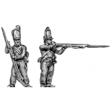 Grenadiers, firing and loading