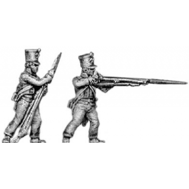 Fusiliers, firing and loading