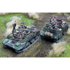 Universal carrier crew
