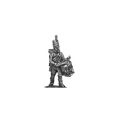 Reserve infantry drummer, English uniform