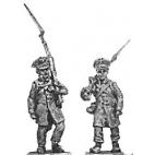 Landwehr, marching