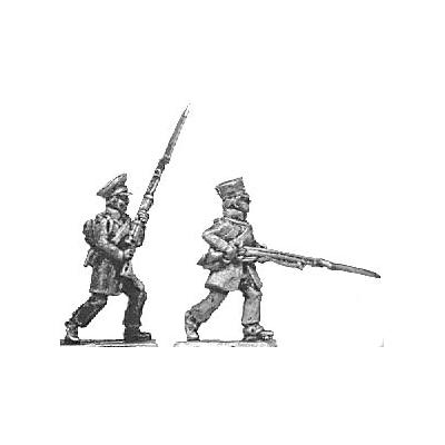 Landwehr, advancing