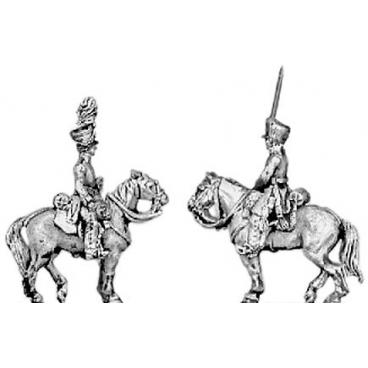Landwehr mounted officer