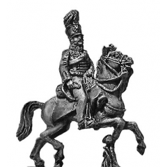 Prussian AFC Officer in Hussar uniform