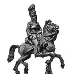 Prussian AFC Officer in Hussar uniform