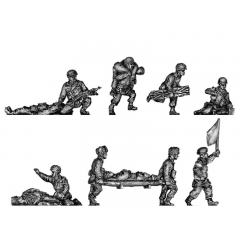 Airborne medics and wounded