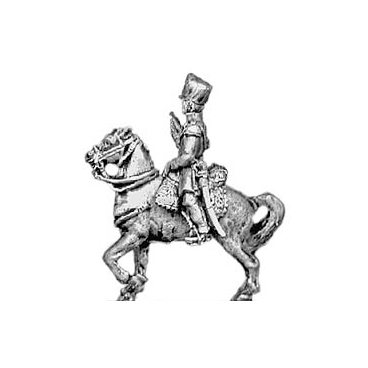 Landwehr trumpeter, shako