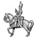 Landwehr trumpeter, English shako